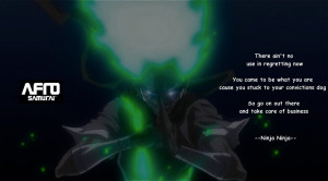 Ninja Ninja Quote - Afro Samurai by ttnag