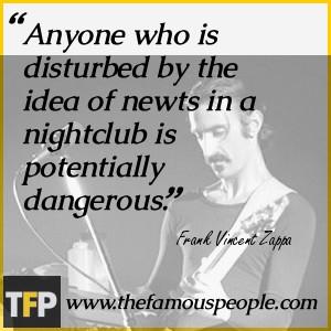 Boring Life Quote Frank Zappa