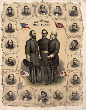 Picture of the Confederate Generals