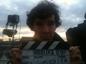 Sherlock on BBC One Final Set Photo