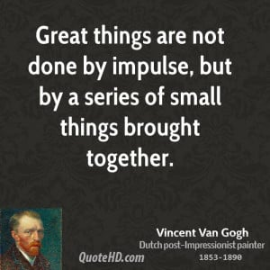 ... enjoy today's blog and savor the masterpieces and words of Van Gogh