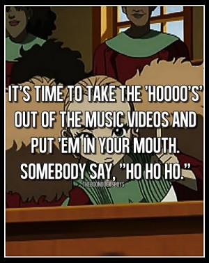 Quotes Per Episode → A Huey Freeman Christmas.