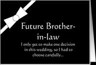 Brother Law Funny Groomsman