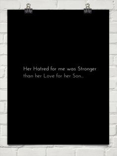 Selfish Mothers