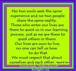 Respect Ourselves and Others Quote