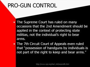 Pro Gun Control Pro-gun control