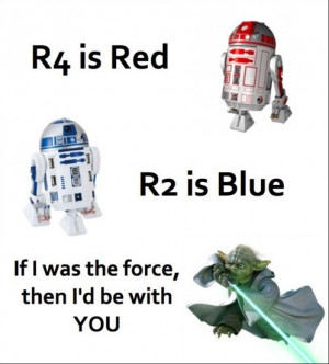 Star Wars Geek Love Poem