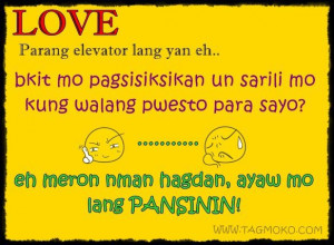 ... Quotes About Love Tagalog ~ Famous Funny Quotes About Love Tagalog