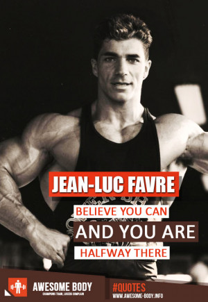 Jean Luc Favre Bodybuilding
