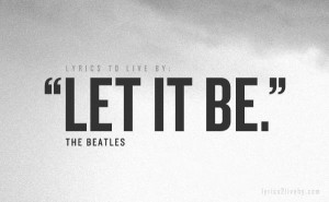 Let It Be ~ The Beatles - Let It Be