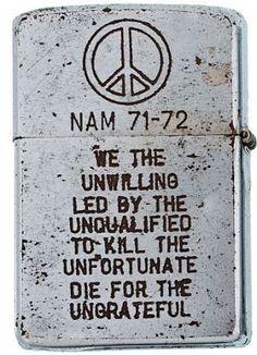 Vietnam War era Zippo More