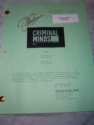 CRIMINAL MINDS QUOTE & SONG INFO FOR