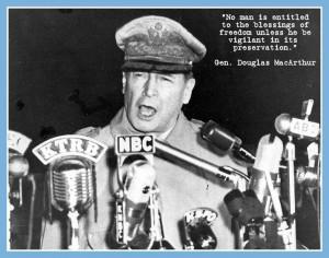 Gen. Douglas MacArthur Quote