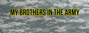 Army Brother Profile Facebook Covers