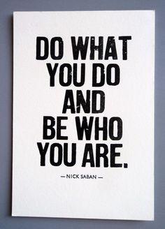 Nick Saban quote. $5.00, via Etsy. I HATE NICK SABAN....but I like ...