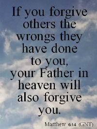 Bible Quotes About Forgiveness Bible verses on forgiveness