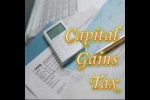 Capital gains tax - Capital gains realizations