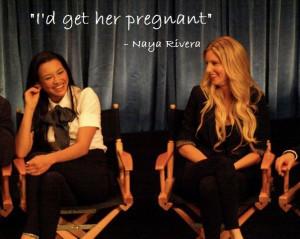 Naya Rivera Quotes Heather morris and naya rivera