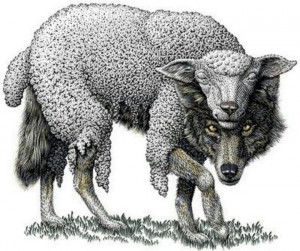 Wolf in Sheep Clothing I'm thinking of making this my next tattoo.