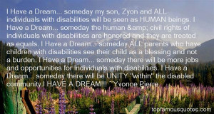 Top Quotes About Individuals With Disabilities