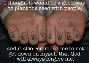 Forgiveness Quote Tattoos Pull quote 1 tattooing the