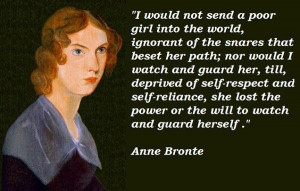 Anne bronte quotes 3