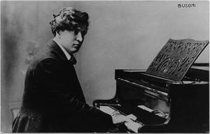 Italian pianist, composer and teacher Ferruccio Benevenuto Busoni ...