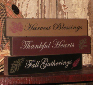 Fall Decorative Signs with Sayings-Fall Signs, Shelf Sign, Fall ...