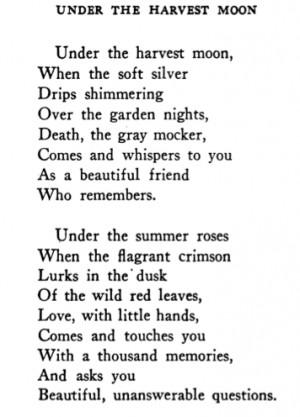 The Harvest Moon 1915
