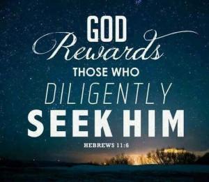 Seek God first