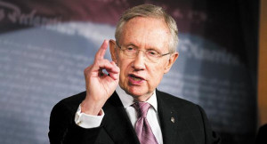 Sen. Harry Reid urged House Republicans to pass a 'clean CR' and end ...