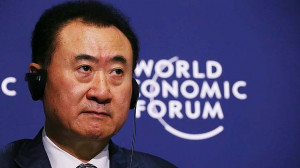 On top: Wang Jianlin, chairman and president of Dalian Wanda Group ...