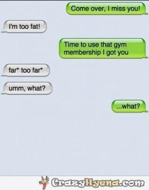 Im Fat Quotes Gym-membership-autocorrect- ...