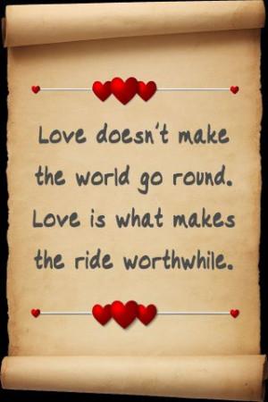 Love quote - Woman's heaven