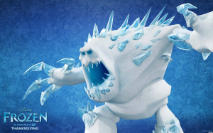 Ice Monster - Frozen Wallpaper (1920x1200)