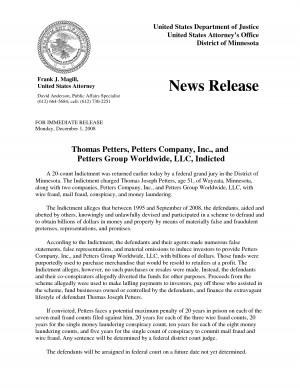News Press Release