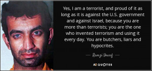Ramzi Yousef Quotes