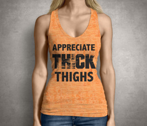 Thick Thighs Womens Tank