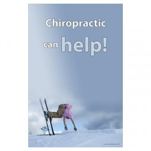 CafePress > Wall Art > Posters > Chiropractic can help Poster