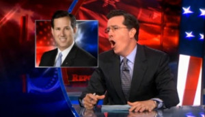 Politics Quotes Stephen Colbert Rick Santorum Quotes