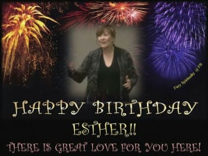 Happy Birthday Esther! ♡ 5.3.2014