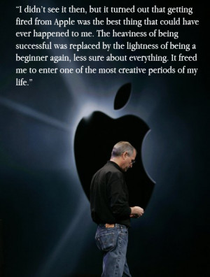 """... that they can change the world, are the ones who do."""" – Steve Jobs"""