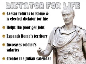 Julius Caesar and the End of the Roman Republic PowerPoint Lesson
