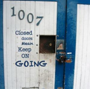 closed doors quote