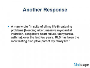 Slide 12. Another Response
