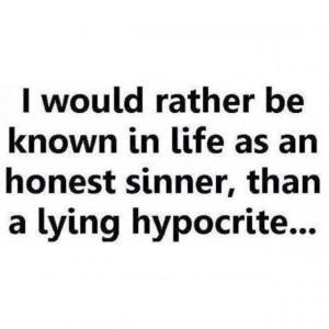 Hypocrite quote #4
