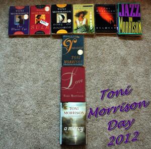 Toni Morrison Day 2012
