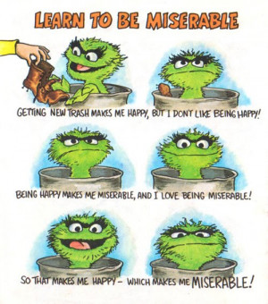 From How to Be a Grouch by Caroll Spinney