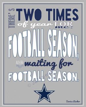 Dallas Cowboys Football Season Darius Rucker Quote INSTANT DOWNLOAD ...