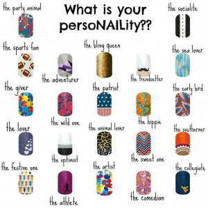 jamberrynails what is your personality????